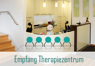 Empfang Therapiezentrum